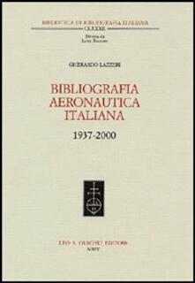 Rallydeicolliscaligeri.it Bibliografia aeronautica italiana 1937-2000. Con CD-ROM Image