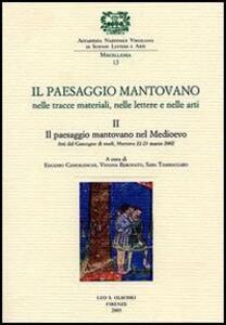 Il paesaggio mantovano. Nelle tracce materiali, nelle lettere e nelle arti. Atti del Convegno di studi (Mantova, 22-23 marzo 2002). Vol. 2: Il paesaggio mantovano nel Medioevo.