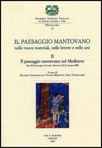 Libro Il paesaggio mantovano. Nelle tracce materiali, nelle lettere e nelle arti. Atti del Convegno di studi (Mantova, 22-23 marzo 2002). Vol. 2: Il paesaggio mantovano nel Medioevo.