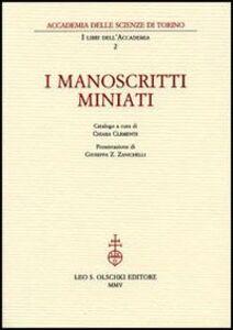 Foto Cover di I manoscritti miniati, Libro di  edito da Olschki