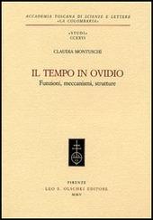 Il tempo in Ovidio. Funzioni, meccanismi, strutture