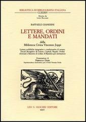 Lettere, ordini e Mandati della Biblioteca Civica Vincenzo Joppi