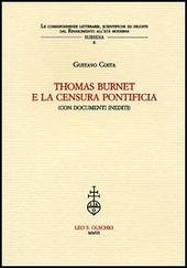 Thomas Burnet e la censura pontificia