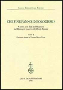 Che fine fanno i neologismi. A cento anni dalla pubblicazione del «Dizionario moderno» di Alfredo Panzini