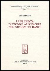 La presenza di Dionigi l'Aeropagita nel «Paradiso» di Dante
