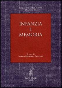 Infanzia e memoria