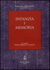 Libro Infanzia e memoria
