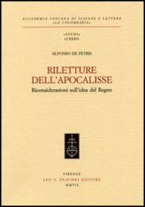 Libro Riletture dell'Apocalisse. Riconsiderazioni sull'idea del regno Alfonso De Petris