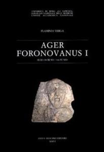 Libro Ager foronovanus. Vol. 1 Flaminia Verga