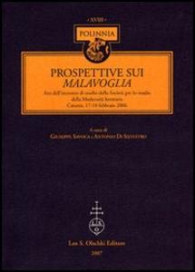 Libro Prospettive sui Malavoglia. Atti dell'Incontro di studio della Società per lo studio della Modernità letteraria (Catania, 17-18 febbraio 2006)