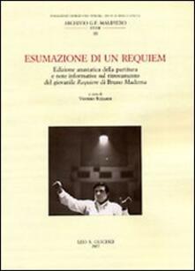 Aboutschuster.de Esumazione di un Requiem. Edizione anastatica della partitura e note informative sul ritrovamento del giovanile Requiem di Bruno Maderna Image