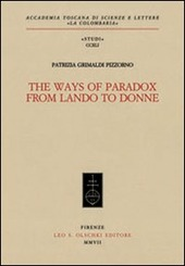 The Ways of Paradox from Lando to Donne