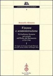 Finanze e amministrazione. Un'inchiesta francese sui catasti nell'Italia del Settecento (1763-1764)
