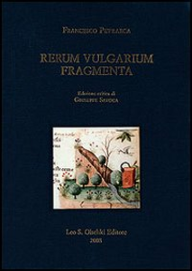 Libro Rerum vulgarium fragmenta Francesco Petrarca