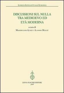 Nicocaradonna.it Discussioni sul nulla tra Medioevo et Età Moderna Image