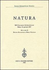 Natura. 12º Colloquio internazionale (Roma, 4-6 gennaio 2007)