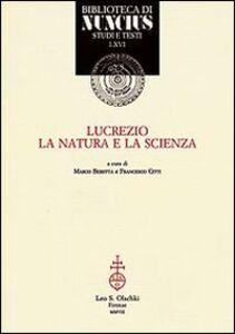 Libro Lucrezio, la natura e la scienza