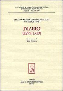 Libro Diario (1299-1319) Giovanni Di Lemmo Armaleoni