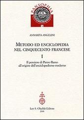 Metodo ed enciclopedia nel Cinquecento francese: Il pensiero di Pietro Ramo all'origine dell'enciclopedismo moderno-I Tableaux di Savigny
