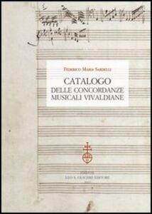 Libro Catalogo delle concordanze musicali vivaldiane Federico Maria Sardelli