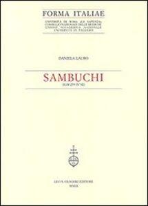 Foto Cover di Sambuchi (IGM 259 IV SE), Libro di Daniela Lauro, edito da Olschki