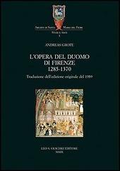 L' Opera del Duomo di Firenze (1285-1370)
