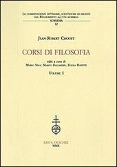 Corsi di filosofia. Vol. 1