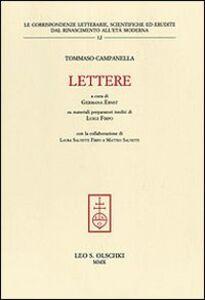 Libro Lettere Tommaso Campanella