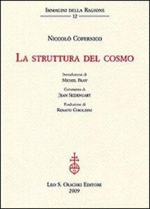 Libro La struttura del cosmo Niccolò Copernico
