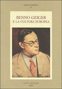 Libro Benno Geiger e la cultura europea