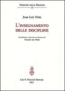Libro L' insegnamento delle discipline Juan L. Vives