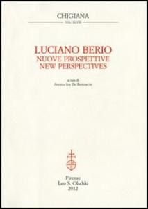 Libro Nuove prospettive-New Perspectives Luciano Berio