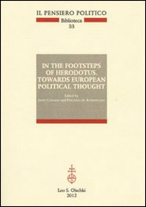 Libro In the footsteps of Herodotus. Towards european political thought