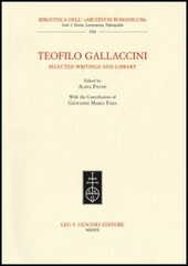 Teofilo Gallaccini. Selected writings and library