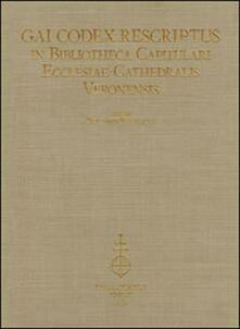 Camfeed.it Gai codex rescriptus in bibliotheca capitulari ecclesiae cathedralis Veronensis. Ediz. in fascimile Image