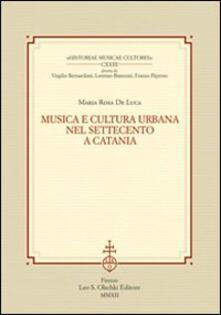 Vitalitart.it Musica e cultura urbana nel Settecento a Catania Image