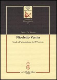 Winniearcher.com Nicoletto Vernia. Studi sull'aristotelismo del XV secolo Image
