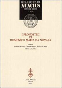 Libro I pronostici di Domenico Maria da Novara
