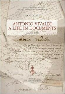 3tsportingclub.it Antonio Vivaldi. A life in documents. Con CD-ROM Image