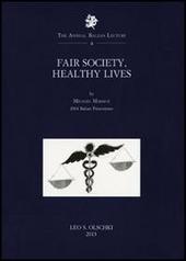 Fair society, healthy lives