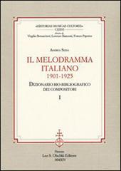 Il melodramma italiano (1901-1925). Dizionario bio-bibliografico dei compositori