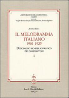 Il melodramma italiano (1901-1925). Dizionario bio-bibliografico dei compositori.pdf