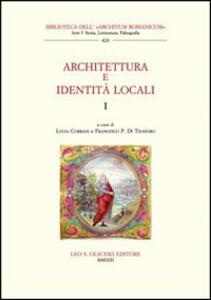 Architettura e identità locali. Vol. 1