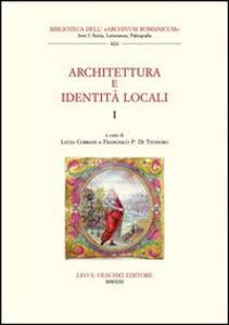 Libro Architettura e identità locali. Vol. 1