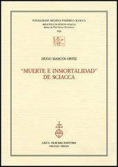 «Muerte e inmortalidad» de Sciacca