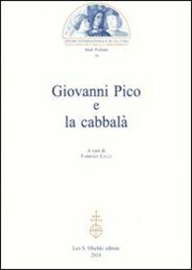 Foto Cover di Giovanni Pico e la cabbalà, Libro di  edito da Olschki