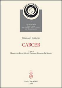 Libro Carcer Girolamo Cardano