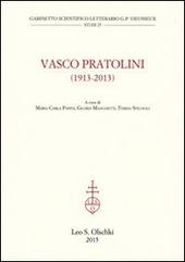 Vasco Partolini (1913-2013). Atti del Convegno internazionale di studi (Firenze, 17-19 ottobre 2013)