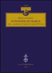 Funzione-Petrarca. Figure e concordanze del Canzoniere da Leopardi al Novecento