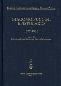 Giacomo Puccini. Epistolario. Vol. 1: 1877-1896. - - wuz.it